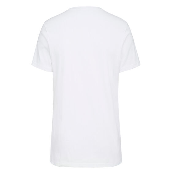 PENCIL F T-SHIRT  WHITE  hi-res