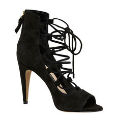 NARINA LACE UP HEEL  BLACK  hi-res