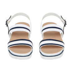 NAUTICAL SANDAL  WHITE/NAVY  hi-res