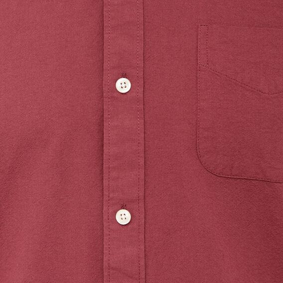 OXFORD SLIM FIT SHIRT  COLLEGE RED  hi-res