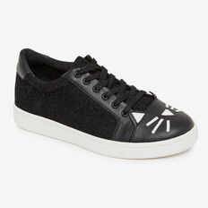 CAT SNEAKERS  BLACK  hi-res
