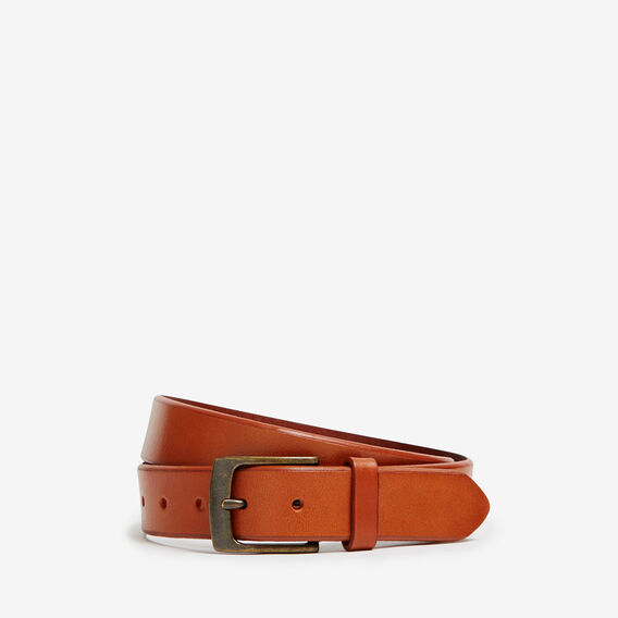 SINCLAIR RUSTIC LEATHER BELT  LIGHT TAN  hi-res