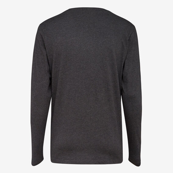 CLASSIC LONG SLEEVE T-SHIRT  DARK CHARCOAL MEL  hi-res