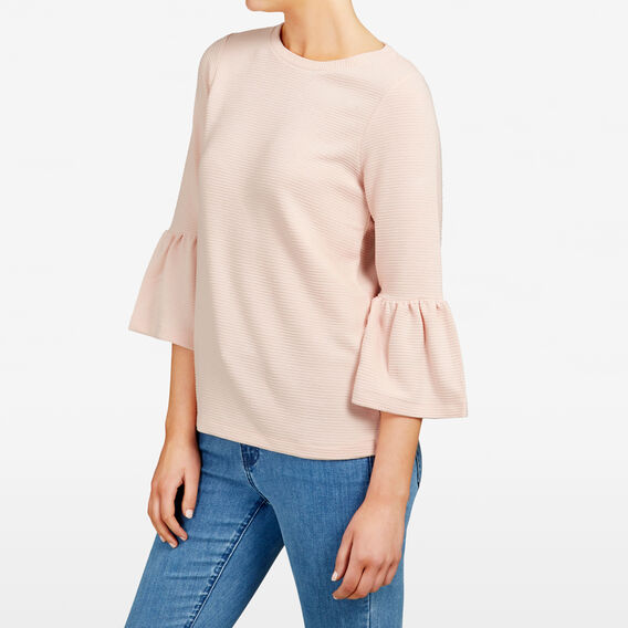 BELL SLEEVE TEE  PINK BLOSSOM  hi-res