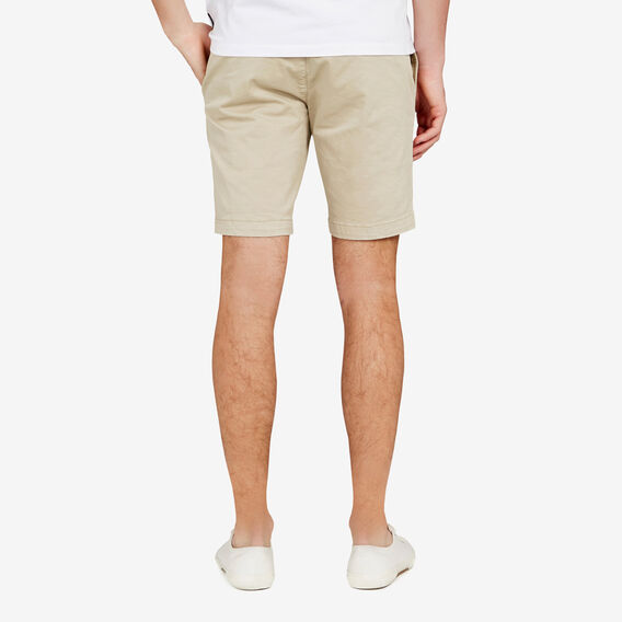 CHARLIE STRETCH CHINO SHORT  STONE  hi-res