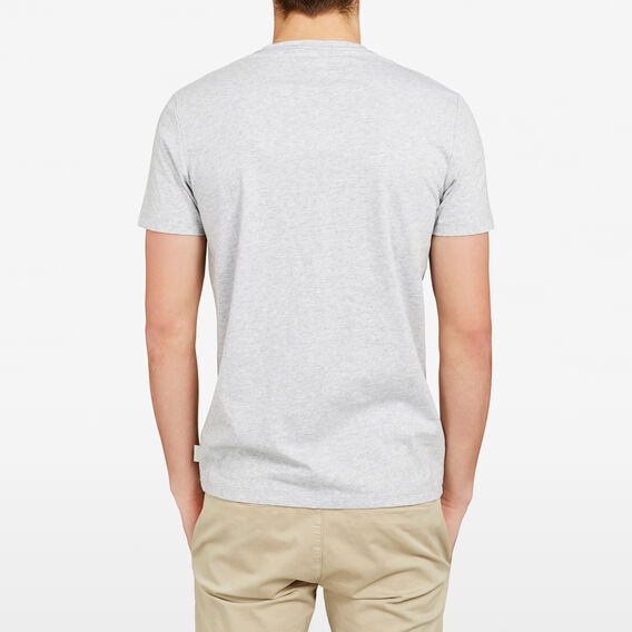 PACIFIC SEAS POCKET CREW NECK T-SHIRT  GREY MARLE  hi-res