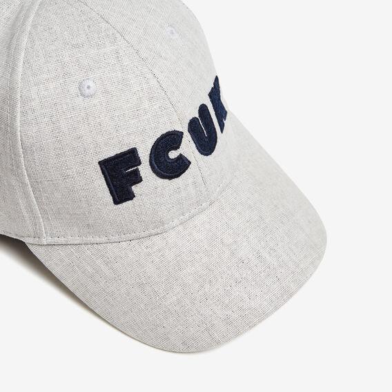 NAVIGATOR FCUK CAP  GREY  hi-res