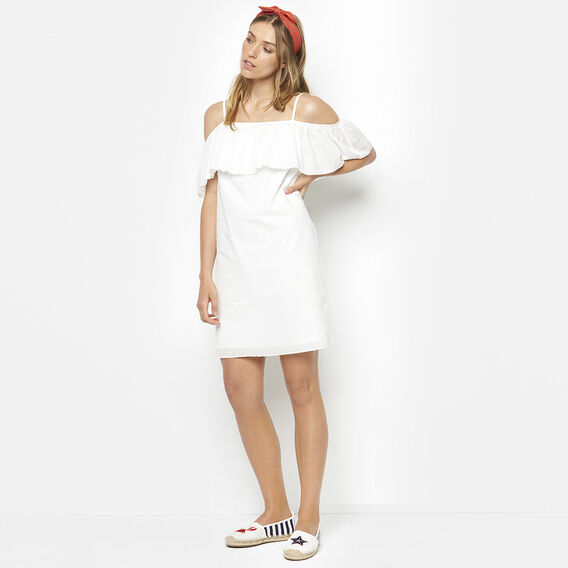 DONT BE A DOBBY DRESS  SUMMER WHITE  hi-res