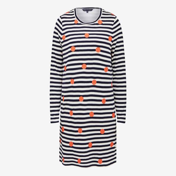 STRIPE SPOT 2IN1 DRESS  SUMMERWHI/NOC/BRIGHT  hi-res