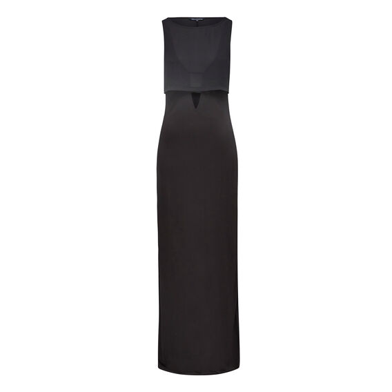 MIDAS MAXI DRESS  BLACK  hi-res