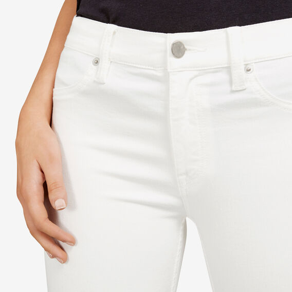 WHITE SUPER SNUG JEAN  WHITE  hi-res