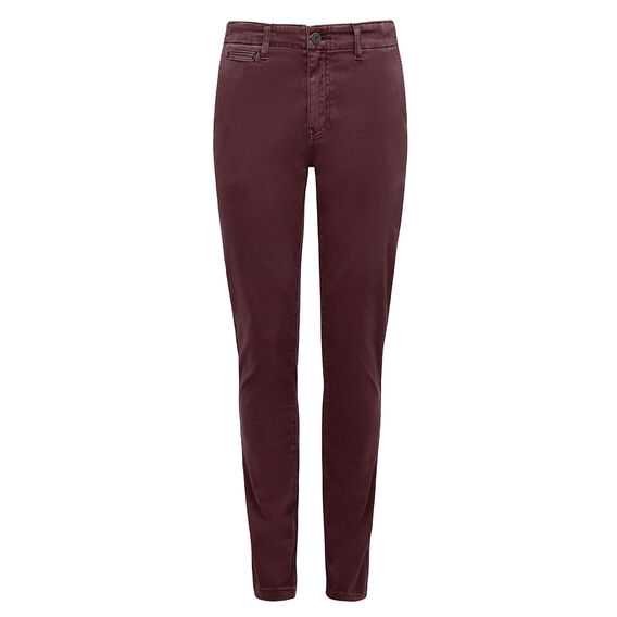 HENRY SLIM FIT CHINO PANT  DARK PORT  hi-res