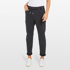 RELAXED DENIM JOGGER  WASHED BLACK  hi-res