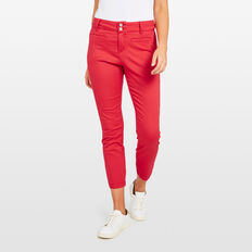 THE ESSENTIAL PANT  RED  hi-res