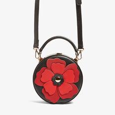 POPPY BAG  BLACK/RED  hi-res