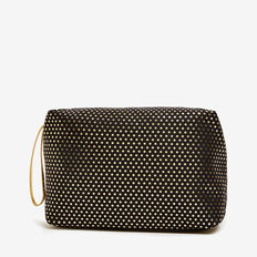 SPOT COSMETIC BAG  BLACK/GOLD  hi-res