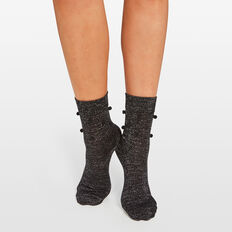 LUREX SOCK  BLACK  hi-res