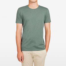 CLASSIC CREW NECK T-SHIRT  LIGHT FOREST GREEN M  hi-res