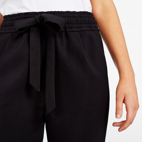 SOFT DROP CROTCH PANT  BLACK  hi-res