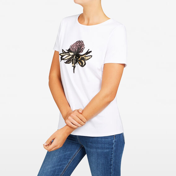 NATIVE FAUNA TEE  BLUSH/MULTI  hi-res