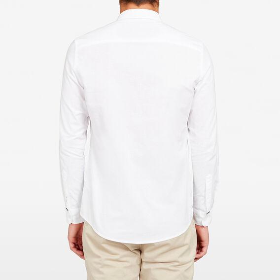 OXFORD SLIM FIT SHIRT  WHITE  hi-res