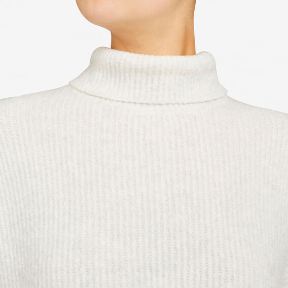 VHARI RIB ROLL NECK  LIGHT GREY MARLE  hi-res