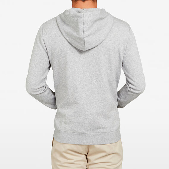 GEO FOX SWEAT HOODIE  GREY MARLE  hi-res