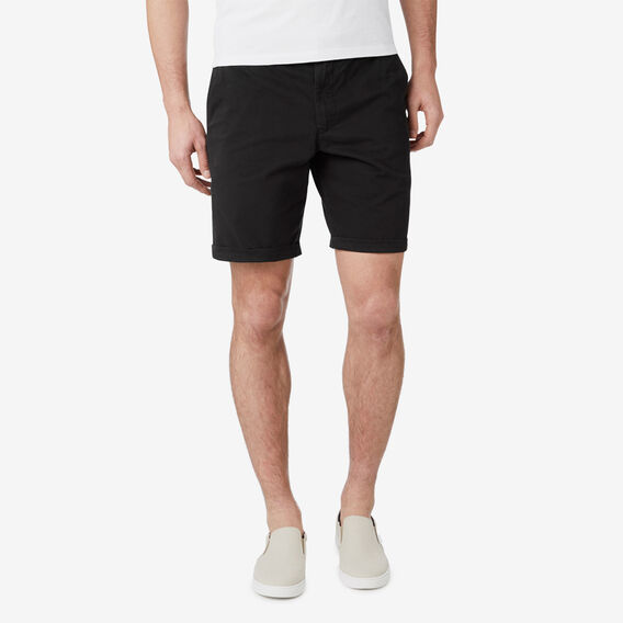 CLASSIC STRETCH CHINO SHORT  BLACK  hi-res