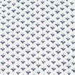 DITSY PRINT SHORT SLEEVE SLIM FIT SHIRT  OFF WHITE/MID BLUE  hi-res