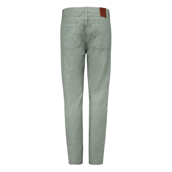 RESORT LINEN PANT  SAGE GREEN  hi-res