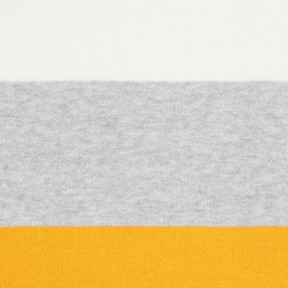VARSITY STRIPE SCARF  MARIGOLD/SUMMER WHIT  hi-res