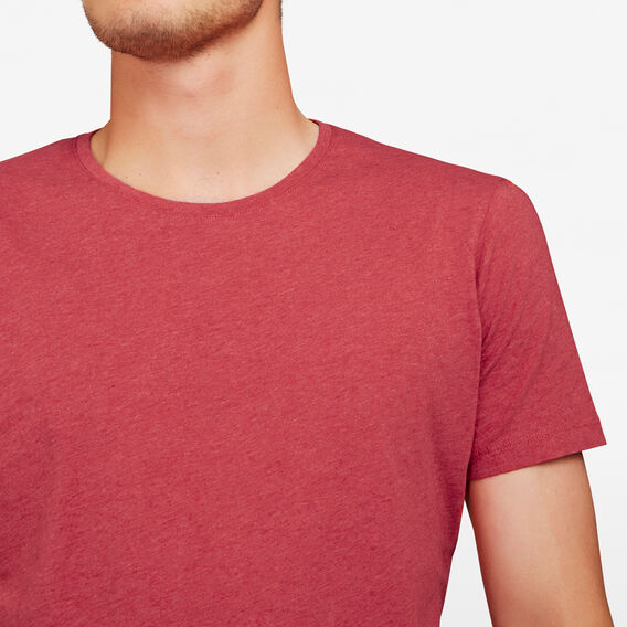 CLASSIC CREW NECK T-SHIRT  RED MARLE  hi-res