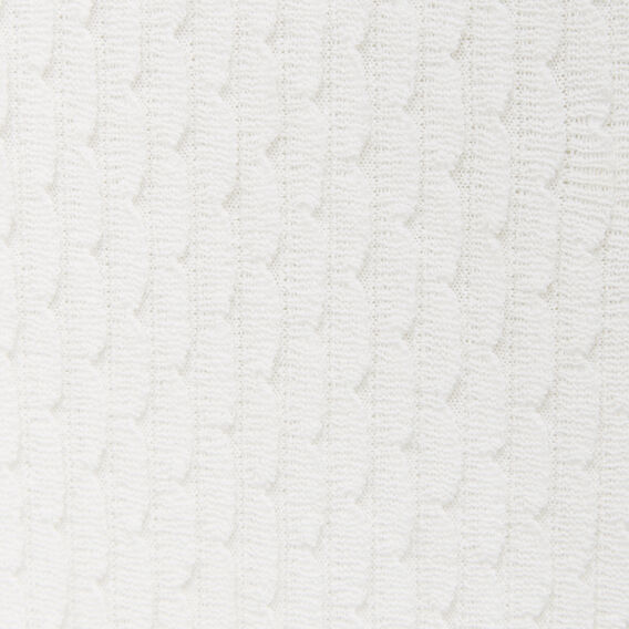 FISH SCALE KNIT  SUMMER WHITE  hi-res