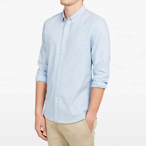 ORLANDO OXFORD SLIM FIT SHIRT  LIGHT SKY BLUE  hi-res
