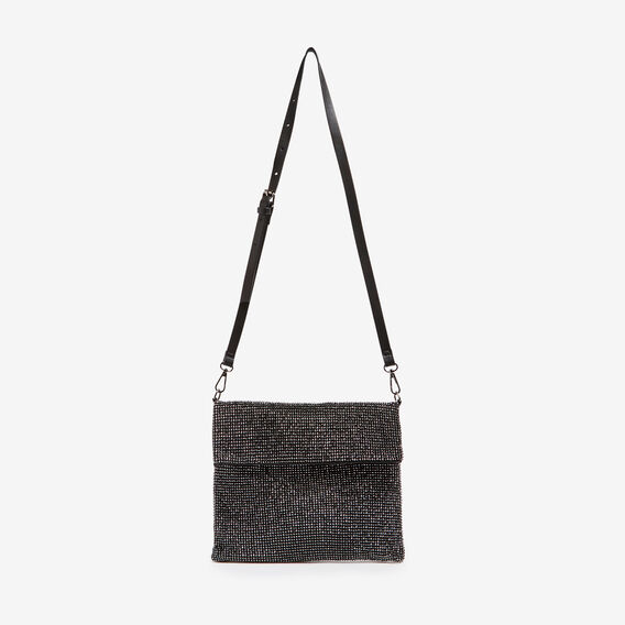 SPARKLE SLOUCH BAG  BLACK  hi-res