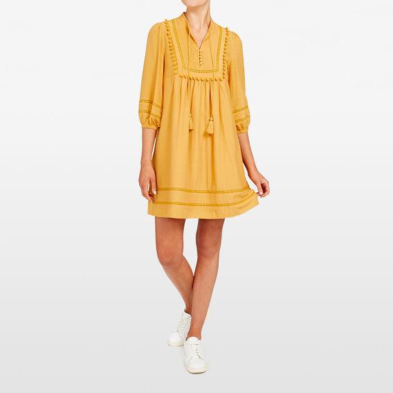 FRILL BABYDOLL DRESS  MARIGOLD  hi-res