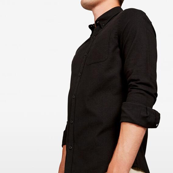 OXFORD SLIM FIT SHIRT  BLACK  hi-res
