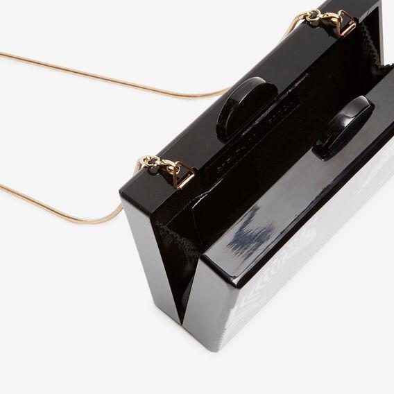 ZEBRA CLUTCH  BLACK  hi-res