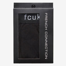 COTTON 1PK TRUNK  BLACK  hi-res