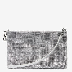SPARKLE CLUTCH  SILVER  hi-res