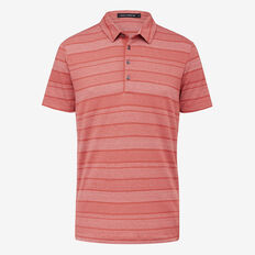 RED EARTH JAQUARD POLO  EARTH RED  hi-res
