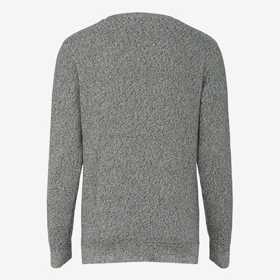 FOREST MELANGE CREW NECK KNIT  FOREST GREEN MARL  hi-res