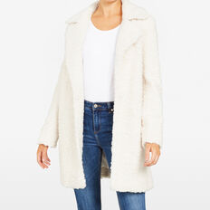 SHERPA COAT  OATMEAL  hi-res