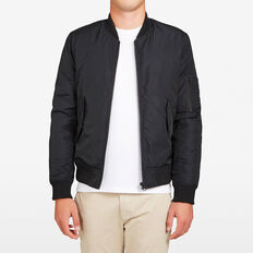 SOPHMORE BOMBER JACKET  BLACK  hi-res