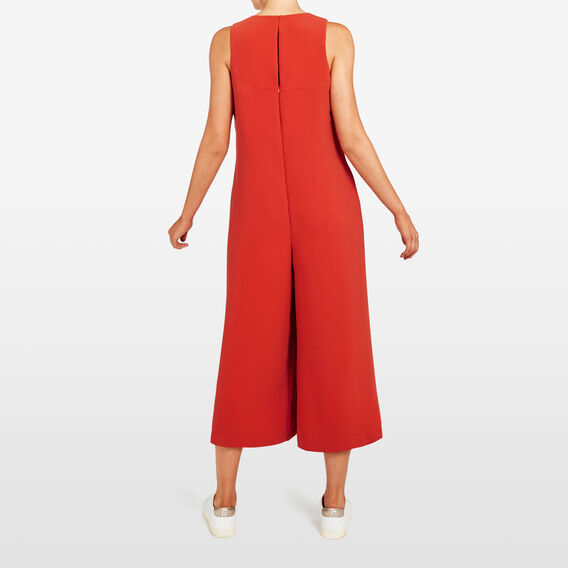 SWING JUMPSUIT  RUST  hi-res