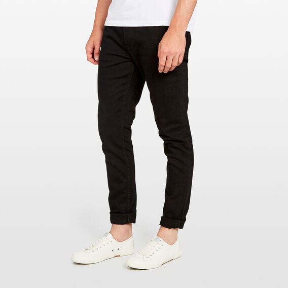 SLIM STRETCH JEAN  BLACK  hi-res