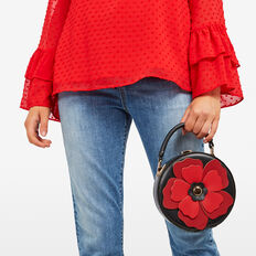 POPPY BAG  BLACK/RED  hi-res