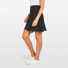 MILANO SWING SKIRT  BLACK  hi-res