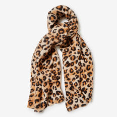 OCELOT SCARF  BLACK/MULTI  hi-res
