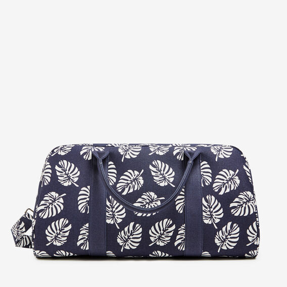 RESORT PALM PRINTED DUFFLE BAG  PALM PRINT  hi-res